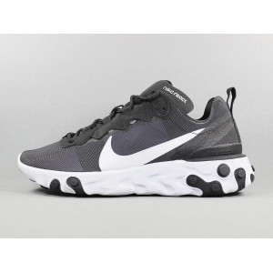 REACT ELEMENT 55 BLACK WHITE  pas cher & discount