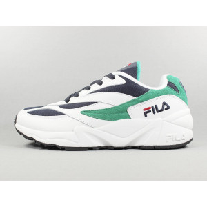 V94M LOW WHITE FILA NAVY pas cher & discount