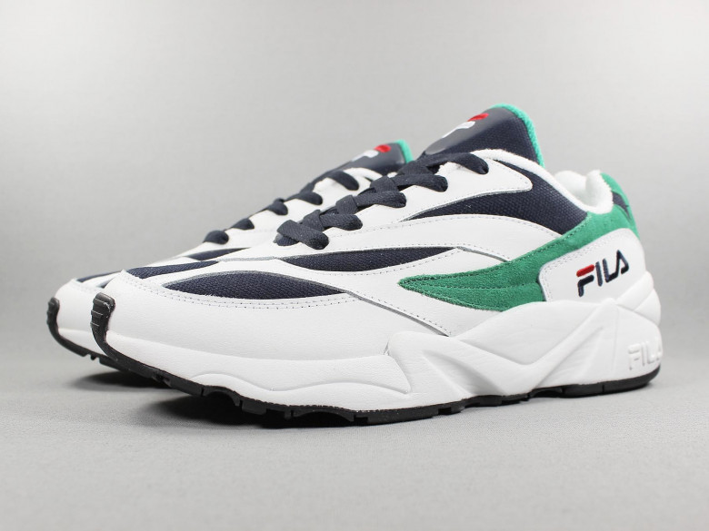 V94M LOW WHITE FILA NAVY