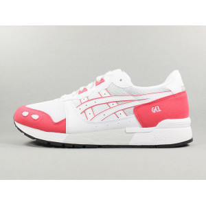 GEL LYTE WHITE/ROUGE pas cher & discount