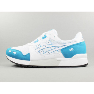 GEL LYTE WHITE/TEAL BLUE pas cher & discount