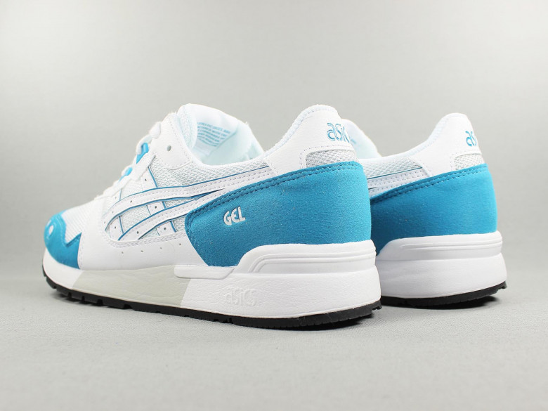 GEL LYTE WHITE/TEAL BLUE