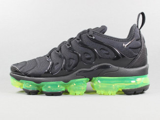 AIR VAPORMAX PLUS BLACK/VOLT pas cher & discount