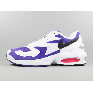 AIR MAX 2 LIGHT 'WHITE/COURT PURPLE pas cher & discount