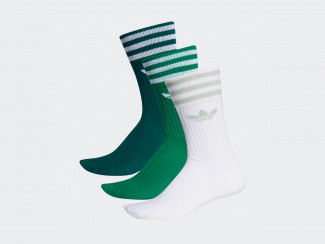 SOLID CREW SOCK (3 PAIRES) pas cher & discount
