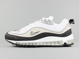 AIR MAX 98 WHITE/METALLIC SILVER  pas cher & discount