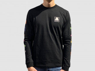 MOTOWN LONGSLEEVE T-SHIRT BLACK pas cher & discount