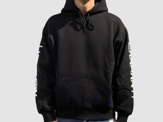 MOTOWN HOODED SWEAT BLACK pas cher & discount