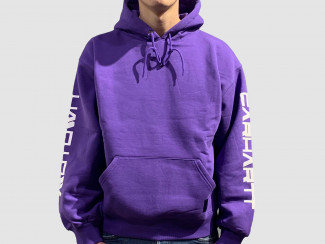 MOTOWN HOODED SWEAT PRISM VIOLET pas cher & discount
