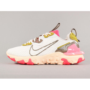 NIKE W REACT VISION SUMMIT WHITE/IRONSTONE pas cher & discount