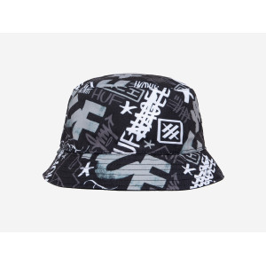 HUF HAZE BUCKET HAT BLACK pas cher & discount