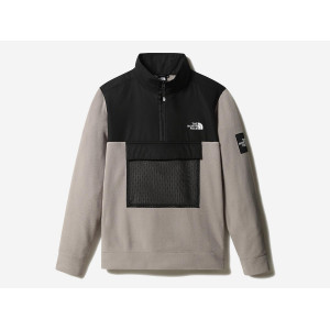 THE NORTH FACE BLACK BOX POLAR FLEECE MINERAL GREY pas cher & discount