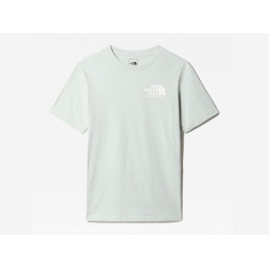 THE NORTH FACE COORDINATES S/S TEE GREEN MIST pas cher & discount