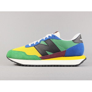 NEW BALANCE MS237LB1 CAPTAIN BLUE/TEAM GOLD pas cher & discount