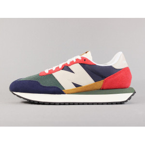 NEW BALANCE MS237LA1 TEAM RED/PIGMENT pas cher & discount