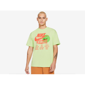 NIKE NSW TEE WORLD TOUR LIQUID LIME pas cher & discount