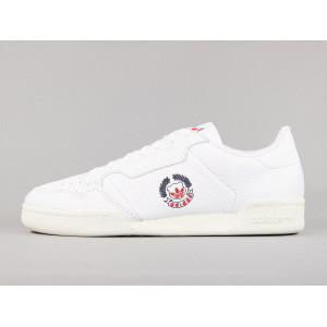 ADIDAS CONTINENTAL 80 CLOUD WHITE pas cher & discount