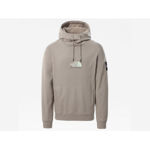 THE NORTH FACE FINE ALPINE HOODIE MINERAL GREY pas cher & discount