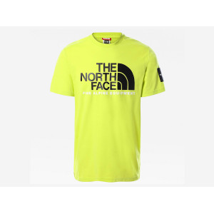 THE NORTH FACE S/S FINE ALPINE TEE 2 SULPHUR SPRING GREEN pas cher & discount