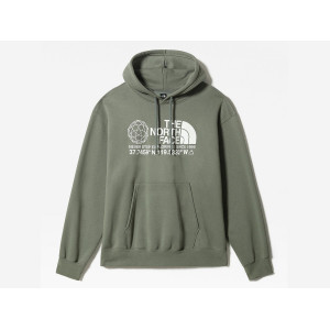 THE NORTH FACE COORDINATES HOODIE AGAVE GREEN pas cher & discount
