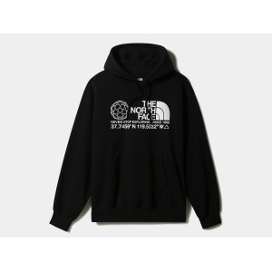 THE NORTH FACE COORDINATES HOODIE TNF BLACK pas cher & discount