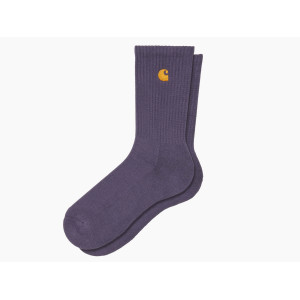 CARHARTT WIP CHASE SOCKS PROVENCE/GOLD pas cher & discount