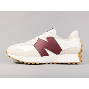 NEW BALANCE WS327KA MOONBEAM/CLASSIC BURGUNDY pas cher & discount