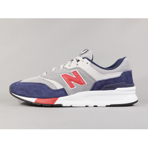 NEW BALANCE CM997 HVR TEAM RED/PIGMENT pas cher & discount