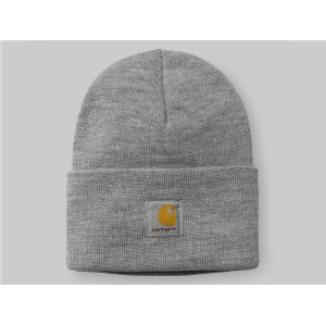 CARHARTT WIP ACRYLIC WATCH HAT GREY HEATHER pas cher & discount