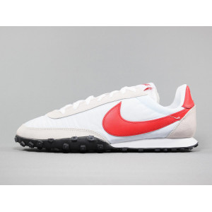 NIKE WAFFLE RACER WHITE/UNIVERSITY RED pas cher & discount